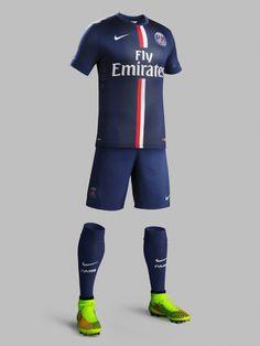 Paris Saint-Germain 2014-15 Nike Home