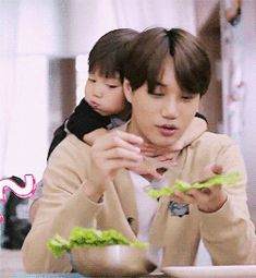 Jongin's so cute with kids he's gonna be a great dad omg