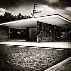 #Barcelona #Pavilion. Rebuilt in Barcelona, Spain. Originally built for the World Fair of 1929. Ludwig #Mies van der Rohe. Photo © Pascal C.