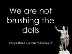 I detti romaneschi in versione British: la top 20 #Roma #Rome #funny