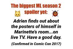 SPOILER! Miraculous Ladybug Comic Con 2017// Marinette's posters!