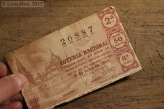 Billete Lotería Nacional - ESPAÑA / SPAIN - 1965 http://r.ebay.com/7EYKDF vía @ebay  @petitsencants  #PetitsEncants #PetitsEncantsBCN #ebay #Brocanter #loopneo #loopneostudio #Oddities #Antiques #retro #Vintage #fotografia #photographie #barcelona #picture #photo #woman #loteria #lottery