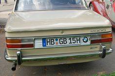 Hamburg - BMW 2000 Baujahr 1962-1972