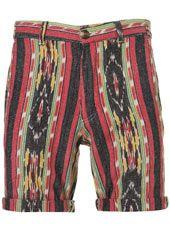 Entre la moda de los pantalones 'picapollos' y los estampados indígenas voy a ser muy feliz en esta estación seca // Aztec Pattern Woven Shorts