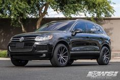 2013 Volkswagen Touareg with Lexani Wheels - Wheel Specialists, Inc. - Tempe,AZ ,US - Touareg Vw, Vw Toureg, Best Suv Cars, Suv Trucks, Best Classic Cars, Car Shop, Vw Tiguan, Dream Cars, Cars