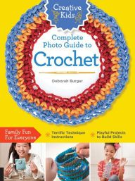 Creative Kids Complete Photo Guide to Crochet by Deborah Burger A great book for pre-teens and teens learning how to crochet, teaching the basics in clear and concise text, photos, and layout. Kids will learn about crochet tools and materials,. Crochet 101, Crochet For Beginners, Learn To Crochet, Easy Crochet, Free Crochet, Crochet Basics, Knitting Books, Crochet Books, Crochet Gifts