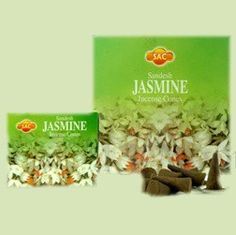 Jasmine Incense Hand rolled Jasmine Incense Cones by the Sandesh Agarbathi Conpany in India. Their incense consists mainly of natural forest products and natural oils (approximately The result is that this incense is environment