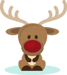 Immagini Di Renne Di Natale.Una Buffa E Tenera Renna Con Un Grande Naso Rosso Da Disegnare E Colorare Pittura Natalizia Natale Natale Artigianato