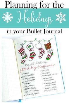 Ideas to plan for the holidays in your bullet journal, including Thanksgiving and Christmas! http://sweetteaandsavinggraceblog.com/planning-holidays-bullet-journal/?utm_campaign=coschedule&utm_source=pinterest&utm_medium=Sweet%20Tea%2C%20LLC&utm_content=Planning%20for%20the%20Holidays%20in%20your%20Bullet%20Journal