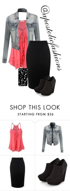 A fashion look from July 2016 featuring tie-dye tank tops, summer jackets and zip skirt. Browse and shop related looks. Cute Fashion, Modest Fashion, Plus Fashion, Womens Fashion, Modest Clothing, Fashion Sets, Emo Fashion, Women's Clothing, Pretty Outfits
