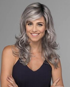 69 things you should know about platinum blonde hair 24 Grey Hair Wig, Long Gray Hair, Silver Grey Hair, Lace Hair, Braids For Short Hair, Short Hair Styles, Lace Front Wigs, Lace Wigs, Platinum Blonde Hair