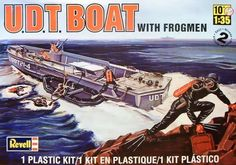 2012 revell SSP 85-0313 1/35 U.D.T. Boat with Frogmen Plastic Model Kit mint picclick.com