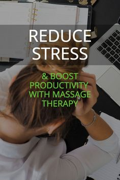 How massage can help busy people. Boost productivity, reduce stress, improve immune system and more reasons why entrepreneurs, and exes should do massage. Reduce Stress, Massage Therapy, Immune System, Productivity, Natural Remedies, Clinic, Health Fitness, Nutrition, Business
