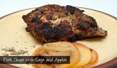 The Delia Smith Project (#46) from Eine Kugel Vanilla: Pork Chops with Sage and Apples