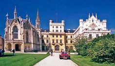 Lednice-Valtice Cultural Landscape in Lednice, South Moravian Region, Czech Republic Places In Europe, Places To See, Prague Czech Republic, Fortification, Culture, World Heritage Sites, Windsor, Tourism, House Styles