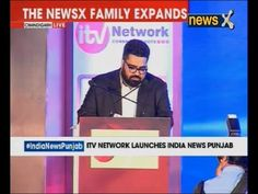 Kartikeya Sharma during the launch of a new regional channel 'India News...