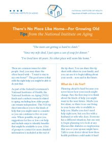 There's No Place Like Home - For Growing Old | National Institute on Aging