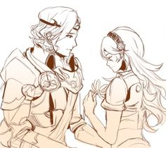 Fire Emblem: If/Fates - Marx and Kamui