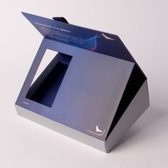 luxury credit card packaging | Products › Packaging › Hinged Lid Box › Angled…