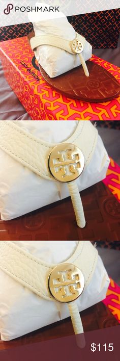 ⚡️✨FINAL DROP✨⚡️Tory burch thora sandals BNWT comes in original packaging brand new please no lowballers 😊 serious buyers only thank you 😊 Tory Burch Shoes Sandals