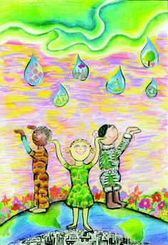 2013 International Children's Painting Competition Finalist, Helen Zhao, Age 13 #WED2013