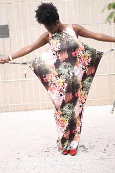 The Tell Tale Tasha: Wrapped in Flowers - Named Kielo Wrap Dress