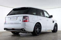 Used Land Rover Range Rover Sport TDV6 HSE OVERFINCH GTS White for sale Essex YH11XDU | Saxton 4x4