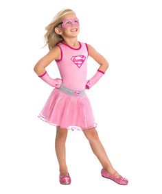 Take a look at this Pink Supergirl Tutu - Girls by Imagine by Rubieu0027s on #  sc 1 st  Pinterest & Childu0027s Pink Supergirl Childu0027s Costume Small | Supergirl Children ...