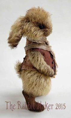 Whittington By The Rabbit Maker - Bear Pile Bunny Art, Love Bear, Bear Doll, Soft Sculpture, Felt Animals, Bunny Rabbit, Softies, Handmade Toys, Pet Toys