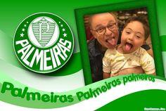 Moldura - Time Do Palmeiras Funny Minion, White Orchids, Palm Trees, Dates, Mugs, Moldings, Party, Craft