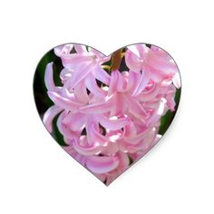 180 best flower stickers images on pinterest stickers flower pink hyacinth flowers heart sticker mightylinksfo