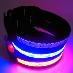 lighted up dog collar