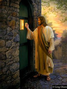 """Let Him In"" Greg Olsen"