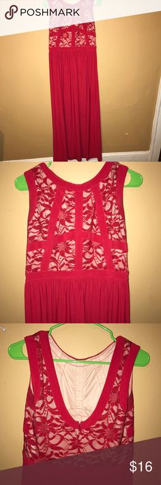 Red gown dress Great condition, formal wear Dresses Prom