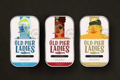 Old Pier Ladies (sardines) | Design (concept) : Riccardo Tosoni, Italie (mars 2016)