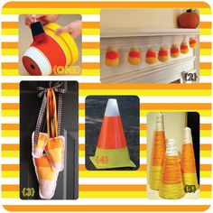 More Candy Corn decor!