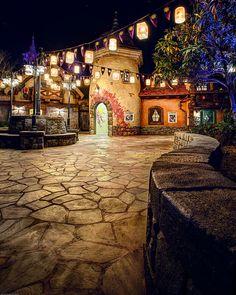 New Tangled area at the Magic Kingdom