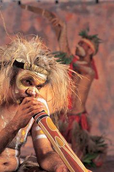 Indigenous Australian Musician