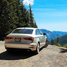 Audi-mountain high Colorado. (Via: @lukesbeard)