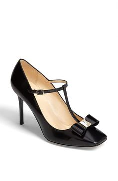 kate spade new york 'highland' pump available at #Nordstrom Such a fantastic mix of style, sexy, and old lady.
