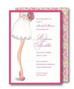 Sassy Bride Bridal Shower Invitation