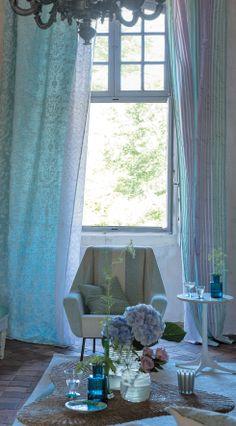Designers Guild Pastel colours, featuring Portia fabric