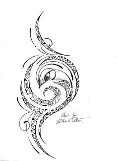 Polynesian Tattoo Drawings | Polynesian ART
