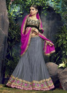 Ethnic Choli Bridal Bollywood Wedding Pakistani Lehenga Traditional Indian wear #Kriyacreation #ALineLehenga