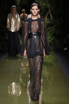 Balmain | Ready-to-Wear Spring 2017 | Look 74