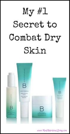 My #1 Secret to Combat Dry Skin - These products are soooo good for your skin! Get more info at www.realnutritiousliving.com #dryskin #Countermatch