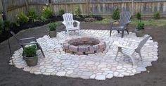 46 New Ideas For Diy Garden Stones Cement Concrete Patios Pergola Patio, Diy Patio, Backyard Patio, Backyard Landscaping, Patio Ideas, Backyard Ideas, Walkway Ideas, Porch Ideas, Landscaping Ideas