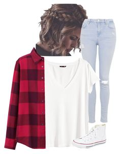 """""""Grunge is back"""" by blondeblogger23 on Polyvore featuring Topshop, H&M, Uniqlo, Converse, women's clothing, women, female, woman, misses and juniors"""
