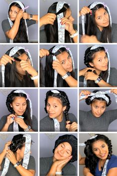 Overnight Hairstyles, Curly Hair Overnight, Overnight Curls, Curled Hairstyles, Heatless Curls Tutorial, Heatless Waves, Long Hair Wedding Styles, Long Hair Styles, Casual Curls