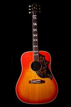1965 Gibson Hummingbird.  I want it!!!